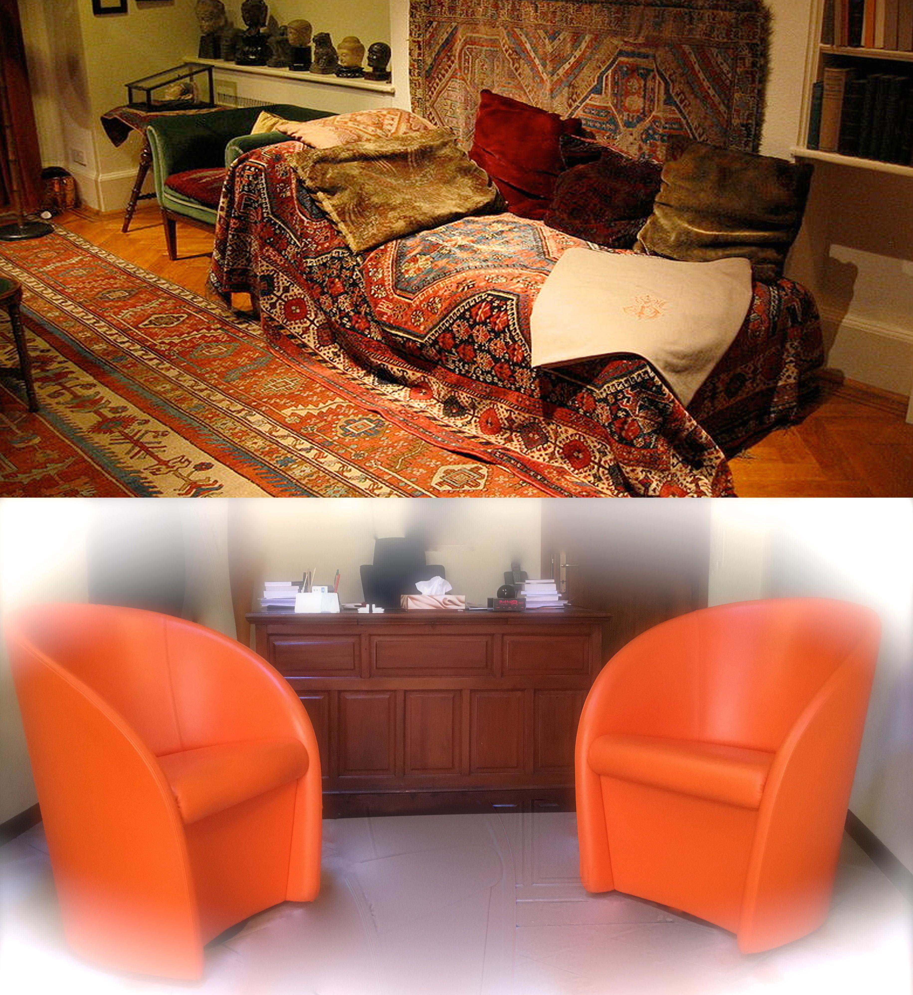Il divano e la poltrona daniele malaguti psicoterapeuta for Poltrone per studio
